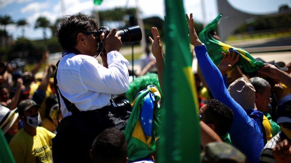 Protest u Braziliji