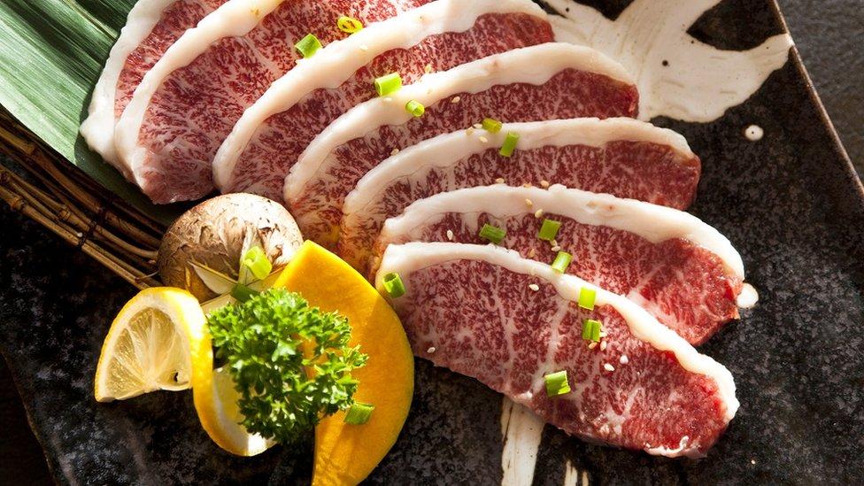 Carne japonesa