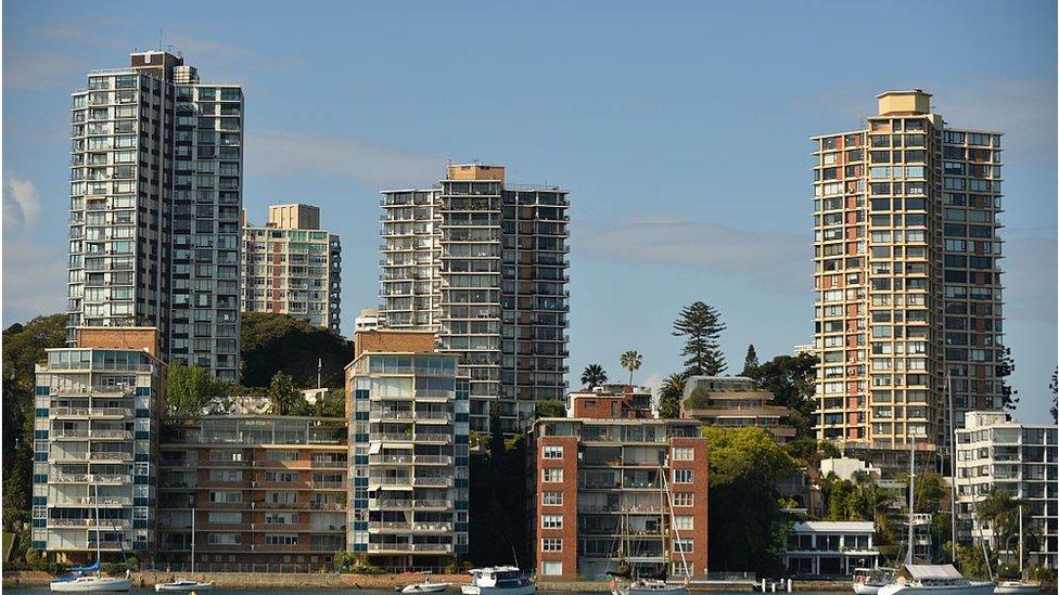 Property on Sydney Harbour