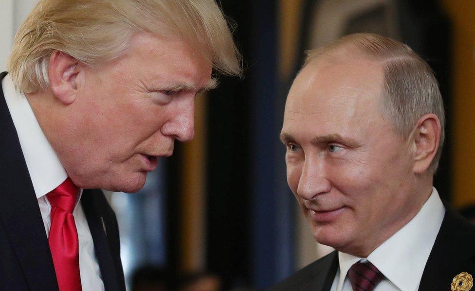 Vladimir Putin Russia S Action Man President Bbc News