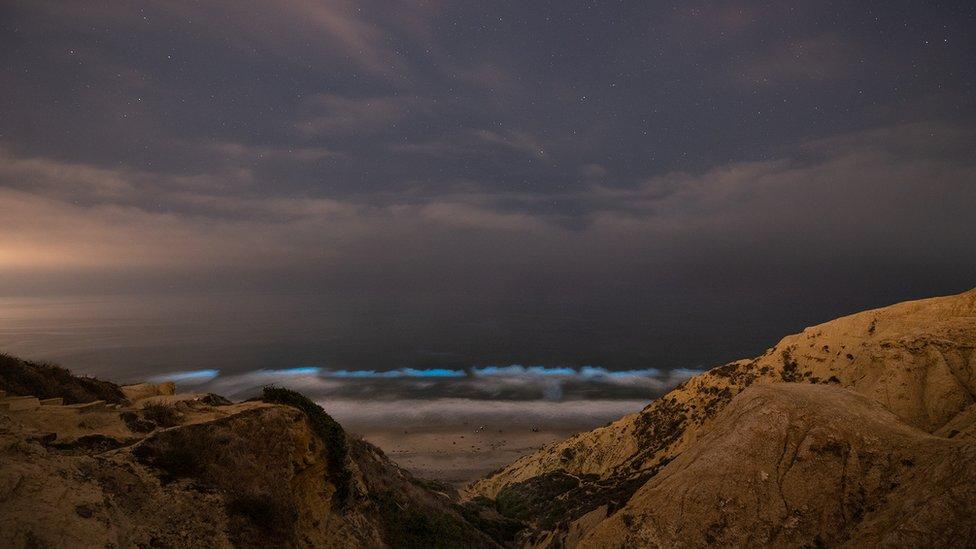 Photographer Jack Fusco captured the clarity of the aqua colours on the shoreline