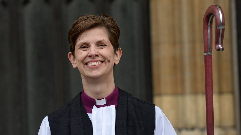 Libby Lane: First female bishop starts new role as Bishop of Derby
