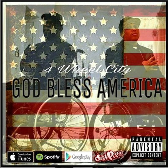 The album cover for God Bless America