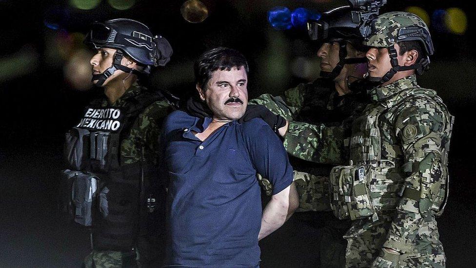 Joaquín Guzmán capturado