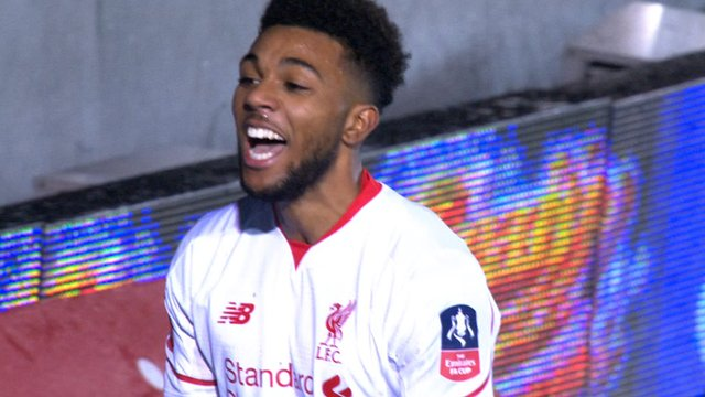 Liverpool's Sinclair equalises