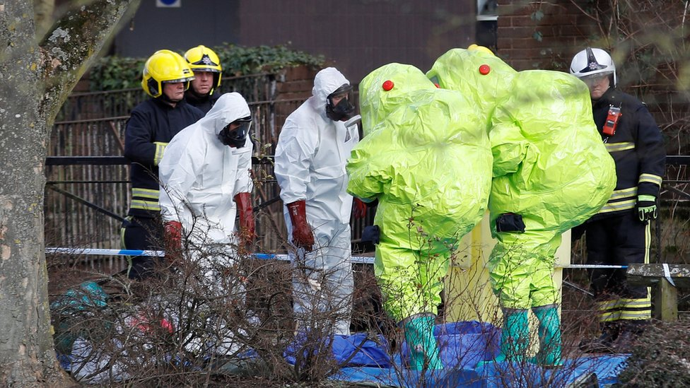 Russian spy: What are nerve agents and what do they do?