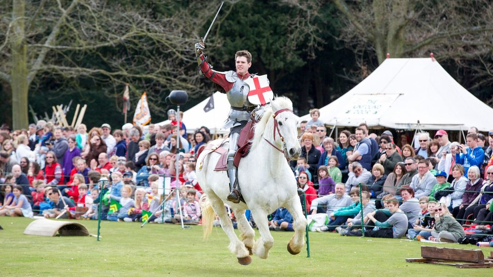 St George's Day events run by English Heritage