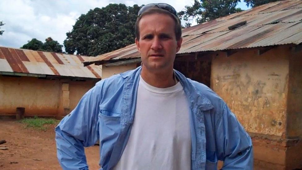 Jim Gash at Ihungu