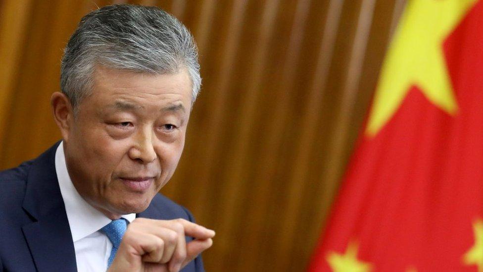 Liu Xiaoming, China's ambassador to the UK