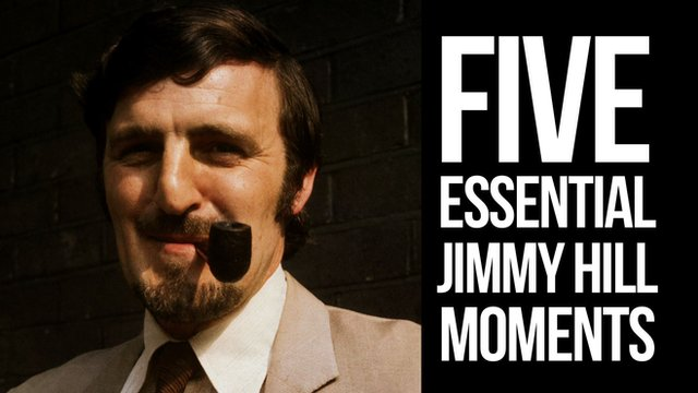 Five essential Jimmy Hill moments