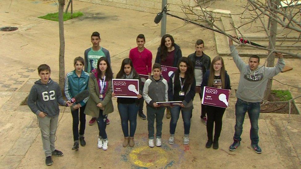 Schoolchildren in Jerusalem