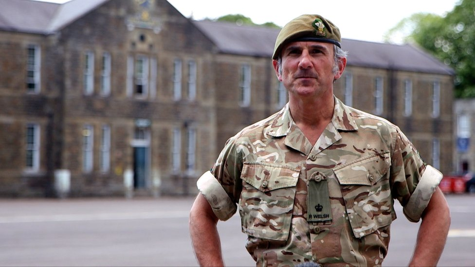 Major Dominic Pascoe of the 3rd Battalion of the Royal Welsh