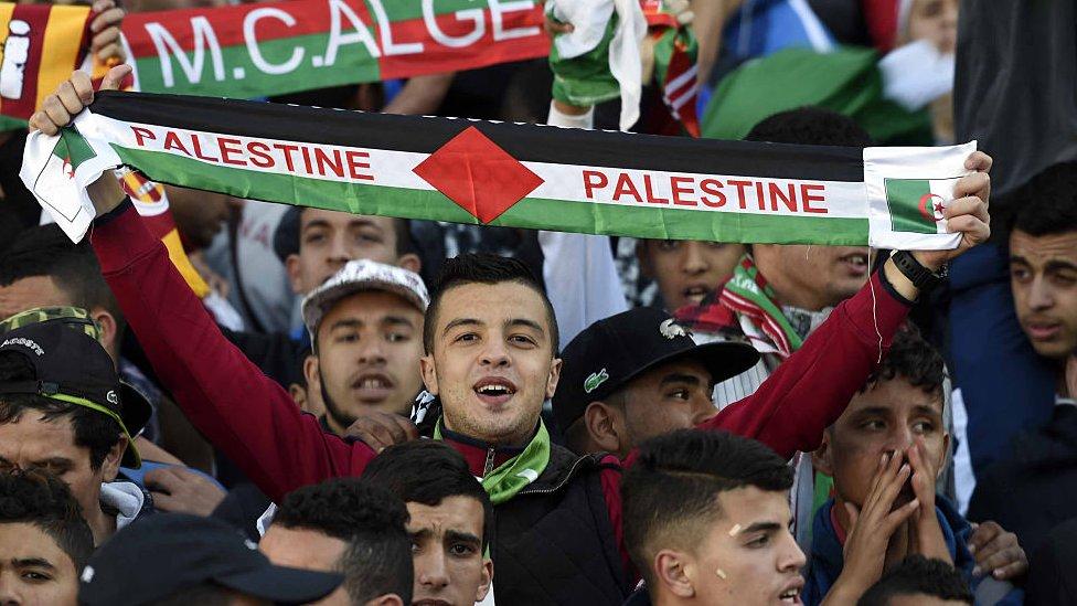 Aficionado palestino
