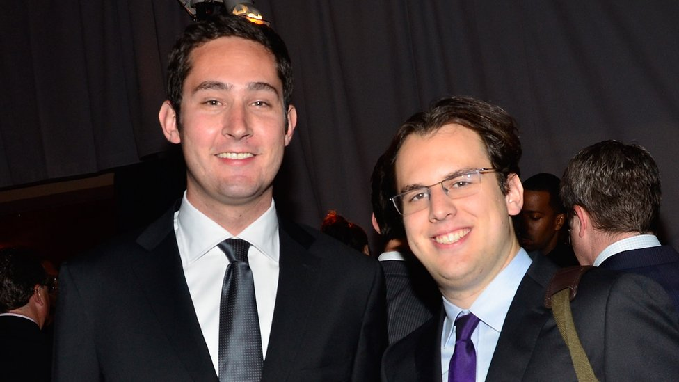 Kevin Systrom y Mike Krieger