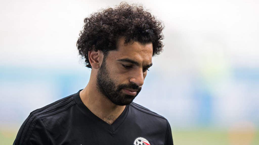World Cup 2018: Mohamed Salah 'happy in camp' says Egyptian FA