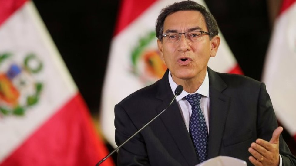 Peruvian President Martín Vizcarra. File photo