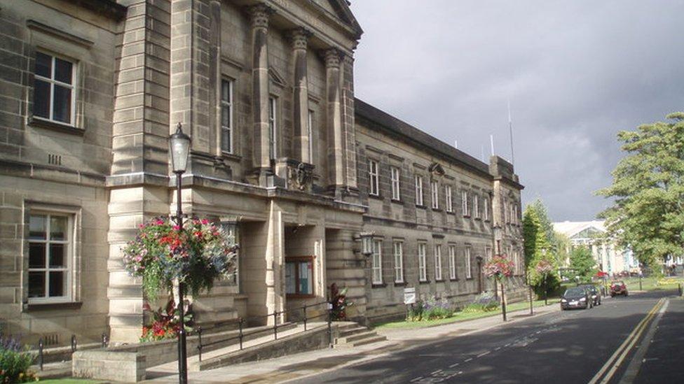 Harrogate council offices