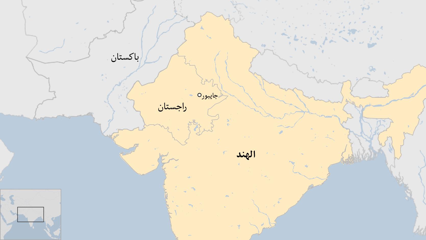 خارطة الهند