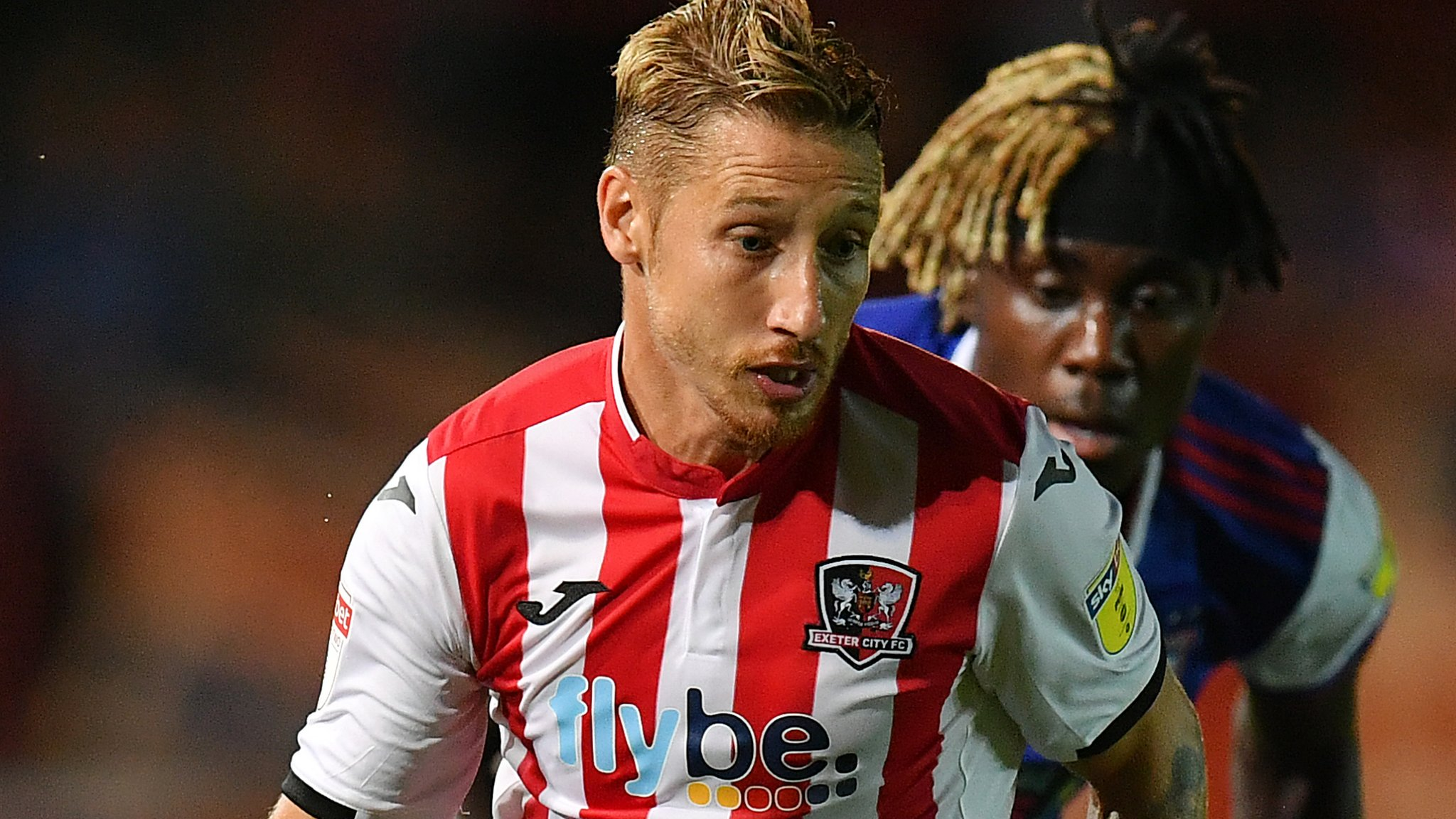 Lee Martin: Exeter City boss praises midfielder after first goal for club