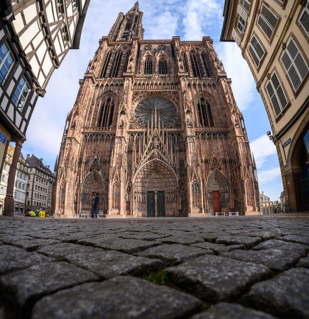 Catedral de Estrasburgo, Francia