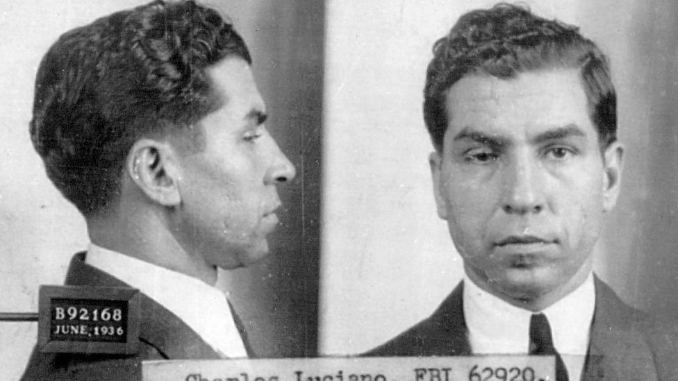 "Charles ""Lucky"" Luciano."
