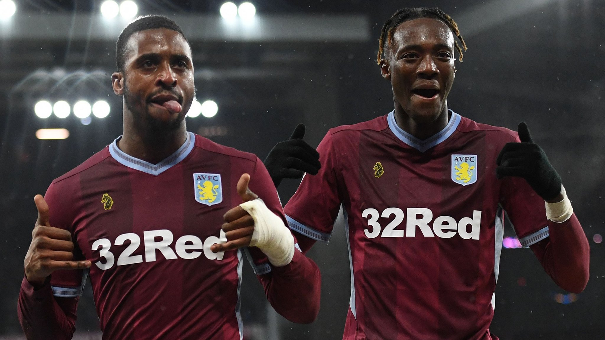 Aston Villa 2-2 Stoke City: Tammy Abraham and Jonathan Kodjia earn Villa draw
