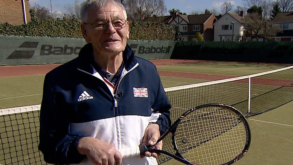 Meet the 87-year-old tennis world number one