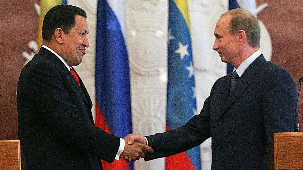 Chávez y Putin