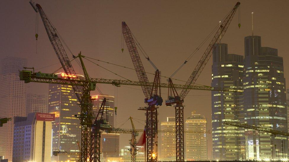 中國建築工地