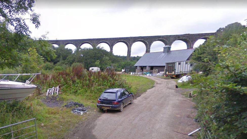 Disused viaduct
