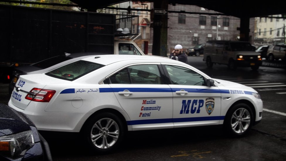 Muslim Community Patrol car
