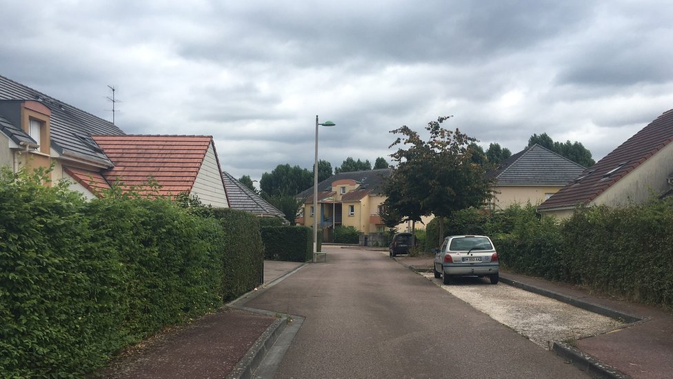 Kermiche's street