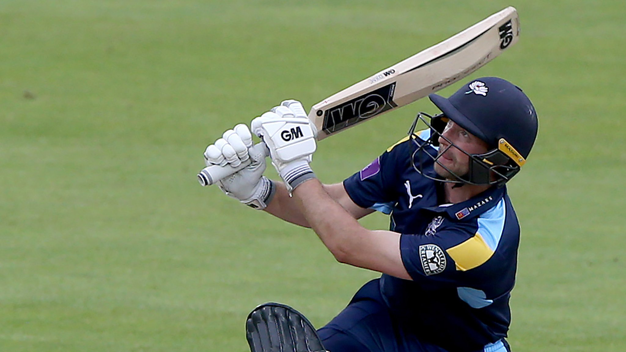One-Day Cup: Adam Lyth hits unbeaten 132 as Yorkshire beat Leicestershire