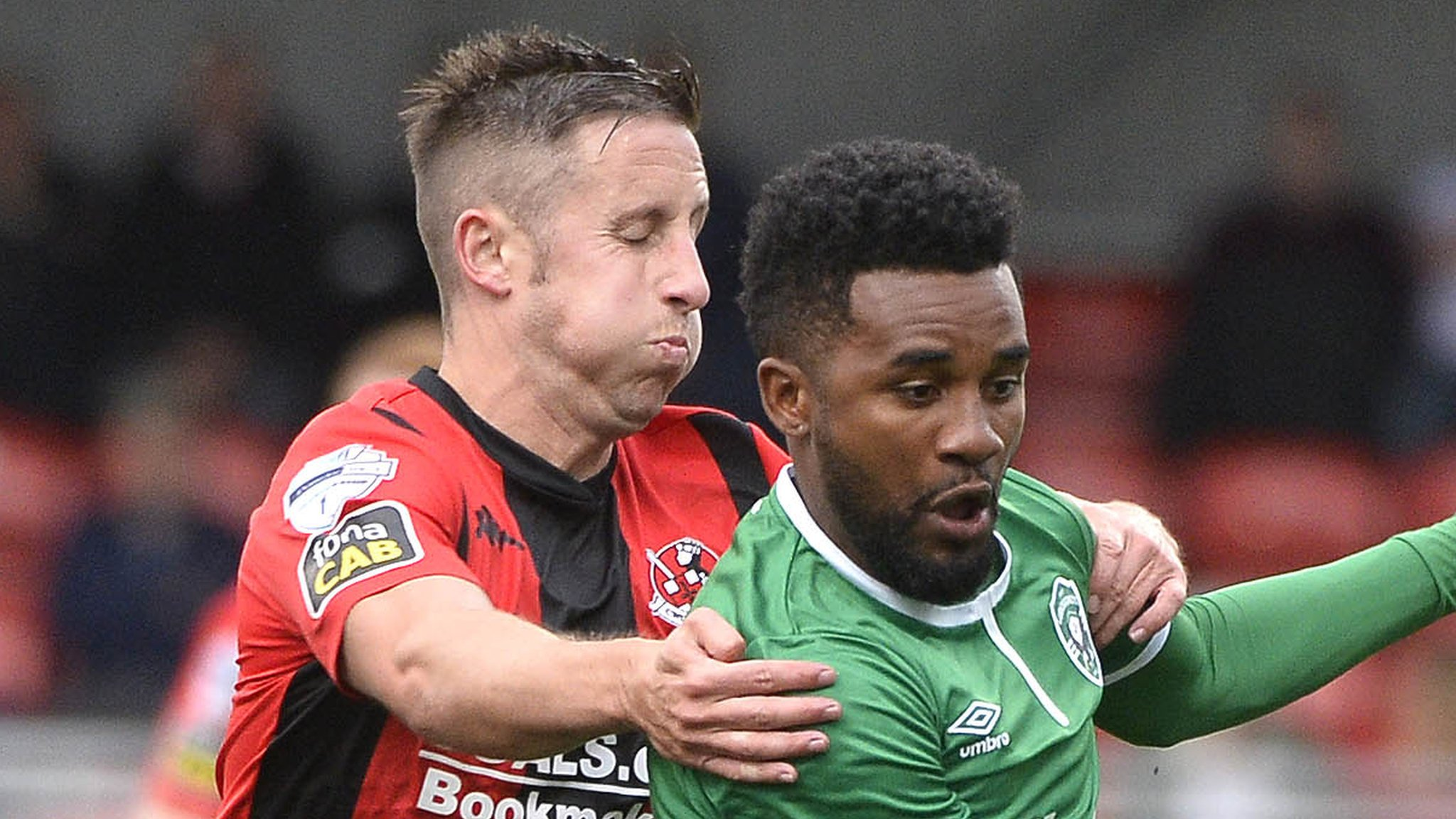 Champions League: Crusaders 0-2 Ludogorets Razgrad