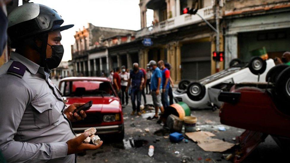 Cuba tras las protestas