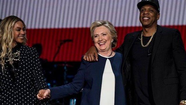 حظيت هيلاري كلينتون بدعم المشاهير عام 2016 لكنها لم تصل للرئاسة
