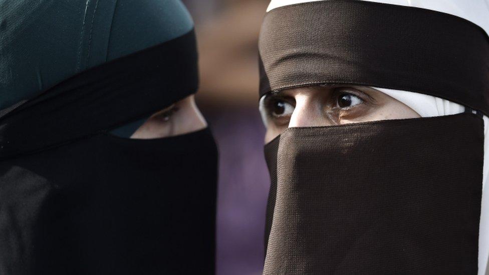 У Данії жінку вперше оштрафували за носіння нікаба