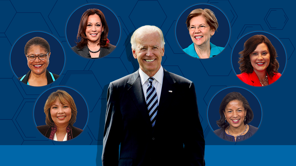 Biden Vp Pick Who Could Be Joe Biden S Running Mate Bbc News 'delaware can always get another senator as is well known, mr. biden vp pick who could be joe biden s