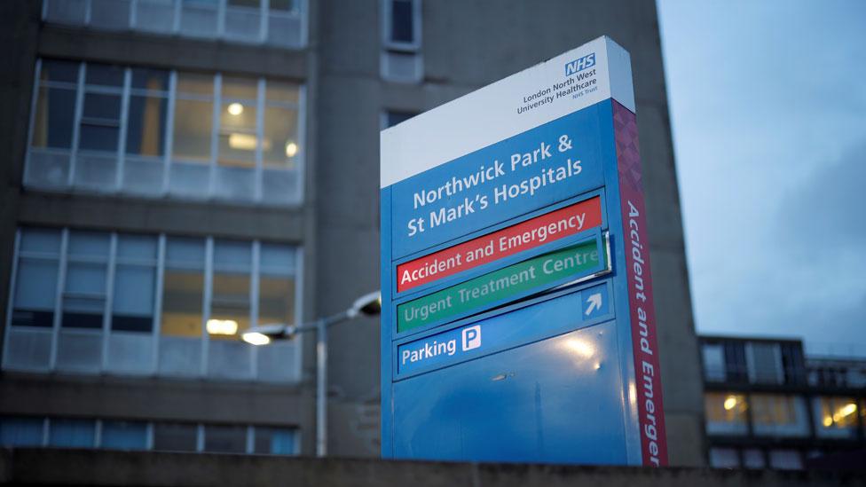 Northwick Park Hospital, en Londres, donde falleció Rajesh.