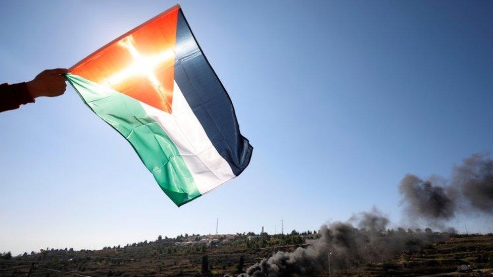 علم فلسطيني