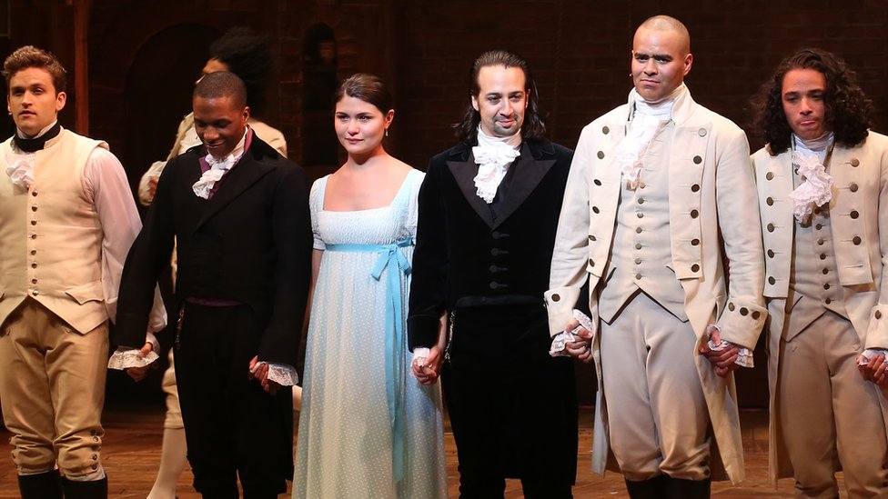 Hamilton film to be released a year early on Disney+ - BBC News