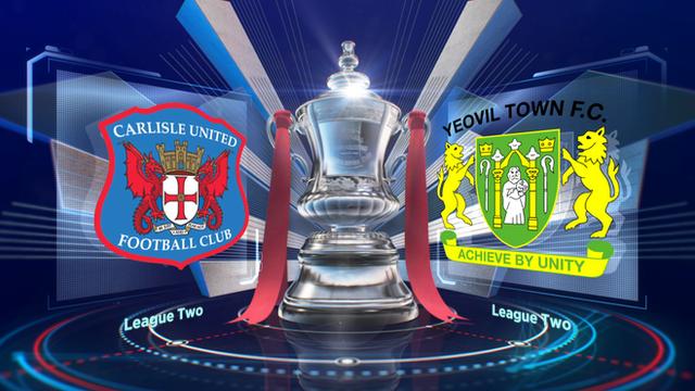 FA Cup: Carlisle Utd 2-2 Yeovil Town highlights