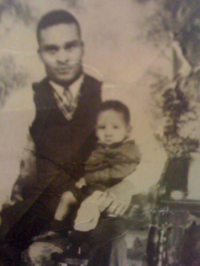 Joe Lejeune dengan ayahnya