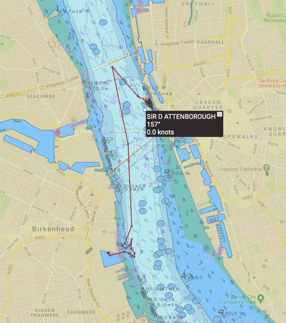 AIS map