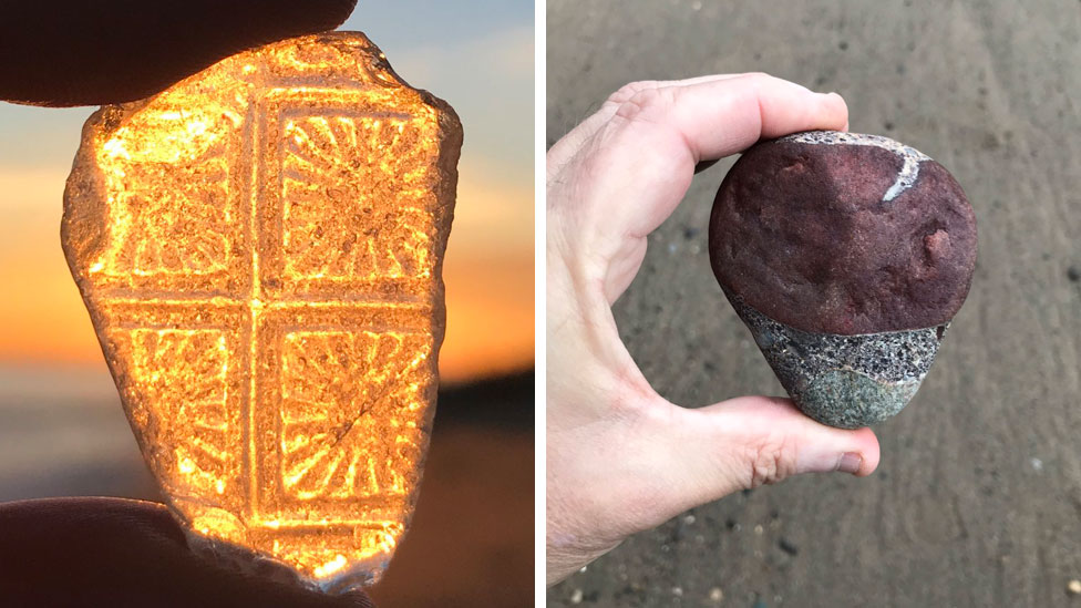 Pebble Power Proves Social Media Hit For Withernsea Poet Bbc News Commonly, they are found in northern germany at the coasts of the north and baltic seas. bbc