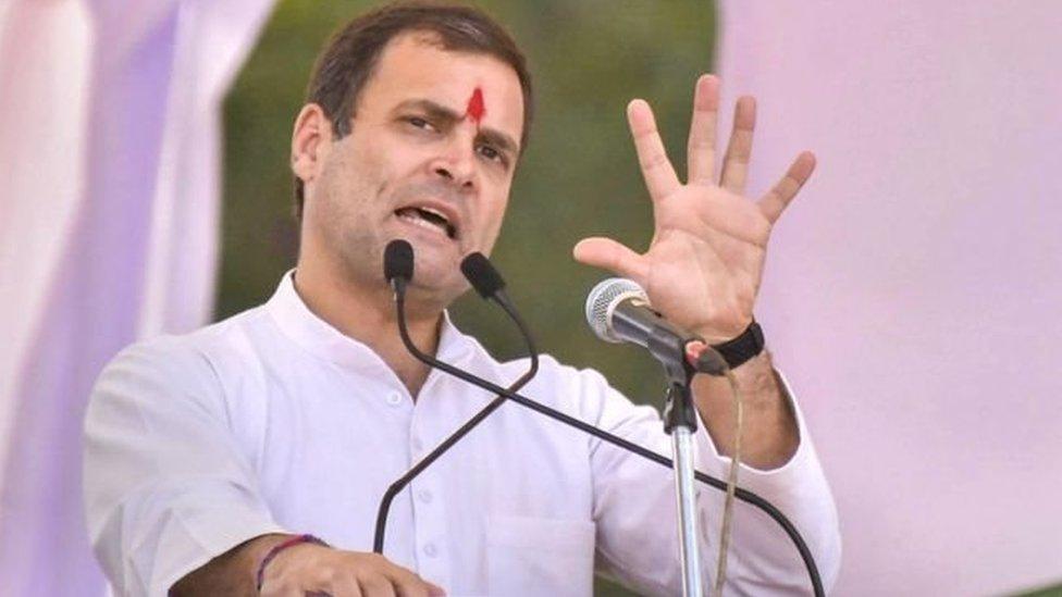 2019 लोकसभा चुनावः पीएम मोदी बताएं, मसूद अज़हर को किसने रिहा किया था- राहुल गांधी