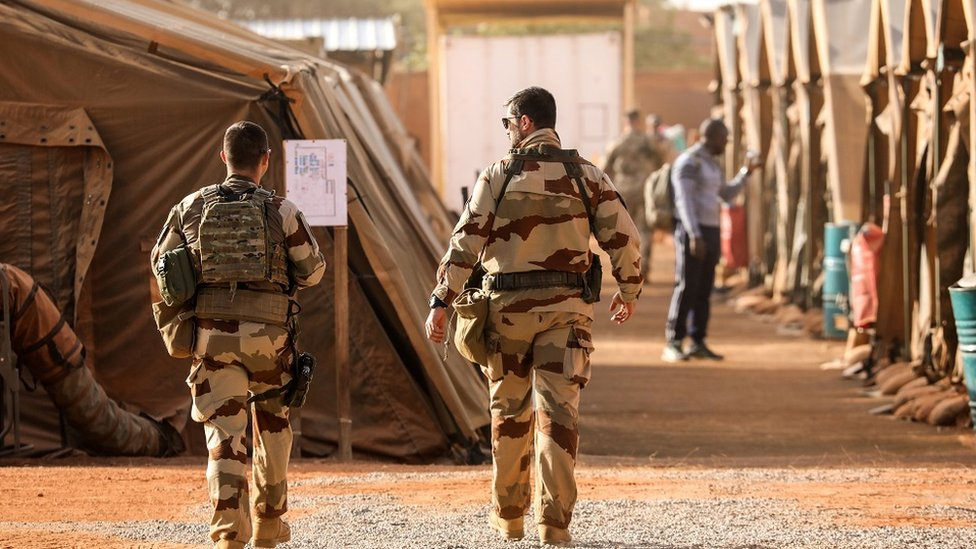 French soldiers in Niger