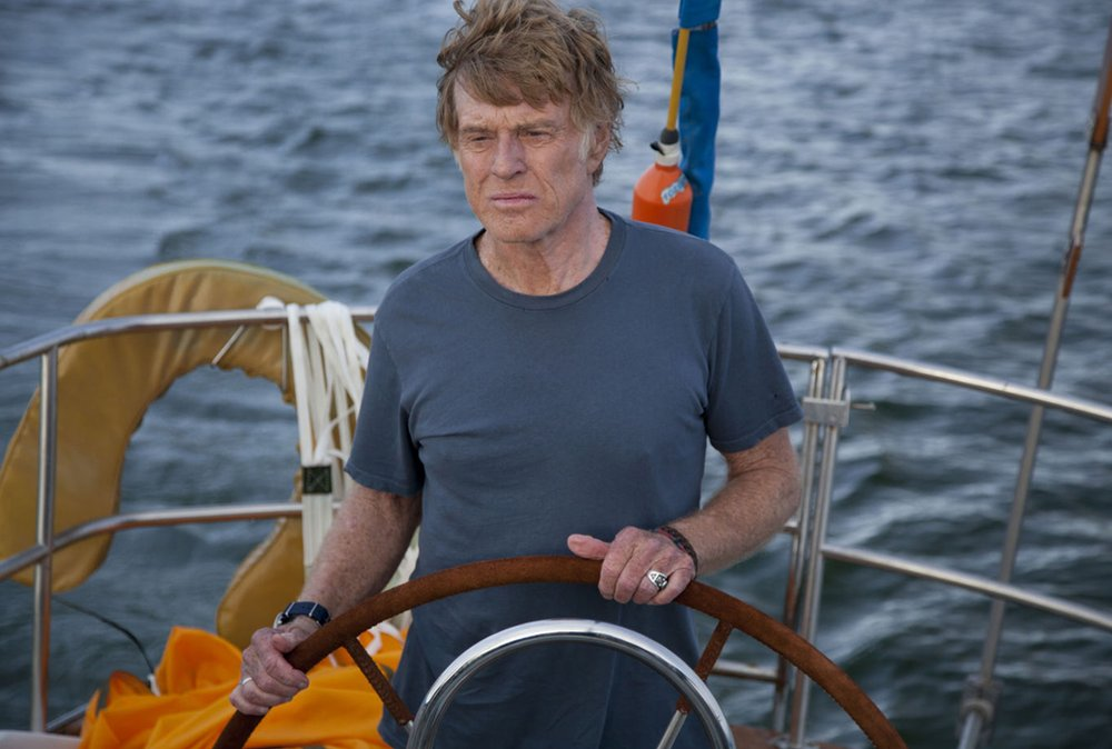 Robert Redford in All is Lost, 2013
