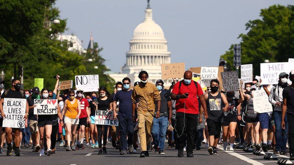 Protestas George Floyd.