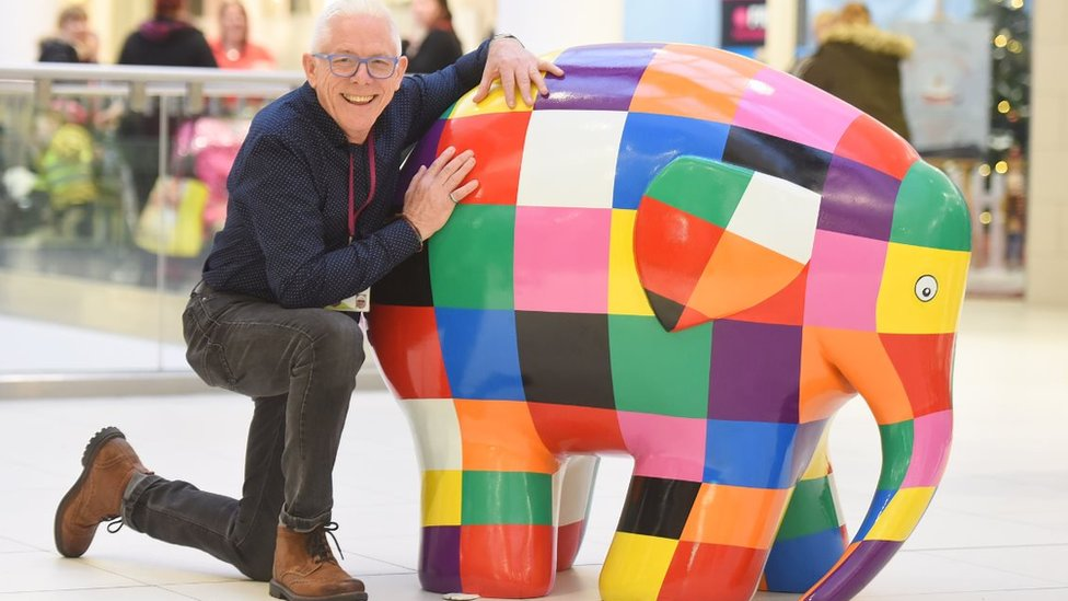 BBC News - Ed Sheeran Castle on the Hill elephant in Ipswich art trail